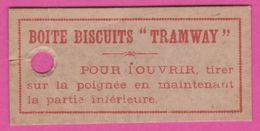 LEFEVRE UTILE - TRAMWAY Etiquette Sur Le Volant - Colecciones