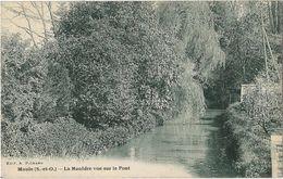 Maule - La Mauldre Vue Sur Le Pont - Maule