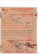 Message Croix-rouge De France Pour L'Algérie (1943) - Postmark Collection (Covers)