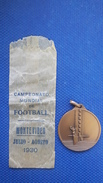 Medal World Cup 1930 Montevideo Uruguay FIFA, Campeonato Mundial De Football - Apparel, Souvenirs & Other