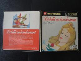 View Master La Belle Au Bois Dormant Walt Disney Livret 3 Disques Bon Etat+ - Stereoscopes - Side-by-side Viewers