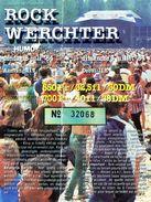 ROCK WERCHTER 08/07/1984 - Tickets De Concerts