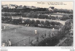 KNOKKE-LE ZOUTE - Le Tennis Et L'Hôtel Links - Oblitération De 1921 - Edition SAIA - Knokke