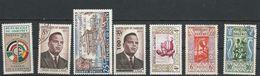 DAHOMEY Scott 139-140-149-152-144-145-146 Yvert 157-158-167-170-162-163-164 (7) ** Et O Cote 6,25$ - Bénin – Dahomey (1960-...)