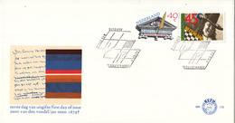 E178 - 300e Sterfdag Joost Van Den Vondel (schrijver) En Jan Steen (schilder) (1979) - NVPH 1184 - 1185 - FDC