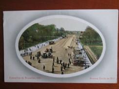 EXPOSITION DE BRUXELLES 1910 .  AVENUE EMILE DE MOT - Mostre Universali