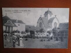 EXPOSITION DE BRUXELLES 1910 .   MAISON ALLEMANDE - Mostre Universali