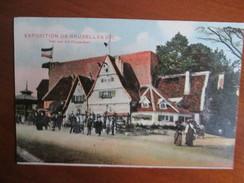 EXPOSITION DE BRUXELLES 1910 .    VUE SUR ALT DUSSELDORF - Mostre Universali