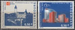 Luxembourg 2006 Michel 1716 - 1717 Neuf ** Cote (2008) 2.00 Euro 150 Ans Caisse D'Epargne Et BIL - Ongebruikt