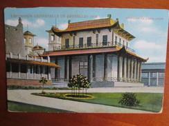 EXPOSITION DE BRUXELLES 1910 .     PAVILLON DE L INDOCHINE - Mostre Universali