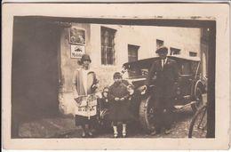AUTO CAR VOITURE - PUBBLICITA' ADVERTISING GOMME PIRELLI MOBILOIL - FOTO ORIGINALE 1923 - Cars