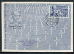 Luxembourg - Carte Maximum 1947 - Patton - Maximum Cards