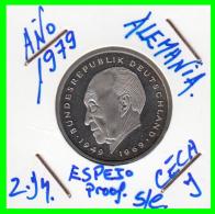ALEMANIA - GERMANY MONEDA DE 2.00 DM. AÑO 1979-J  CALIDAD  PROOF S/C - [ 7] 1949-… : RFA - Rep. Fed. Alemana