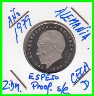ALEMANIA - GERMANY MONEDA DE 2.00 DM. AÑO 1980-D CALIDAD  PROOF S/C - [ 7] 1949-… : RFA - Rep. Fed. Alemana