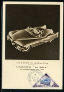 Monaco - Carte Maximum 1953 - Voitures - Cartoline Maximum