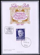"""Österreich 1975: MERKURKARTE/Ersttag """"Leo Fall""""  (siehe Foto/Scan) - 1945-.... 2. Republik"""