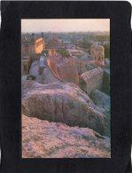 74084    Uzbekistan,   Khiva,  Remnants Of The  Walls In  Ichan-Kala,  The Old Part Of The City,  NV - Uzbekistan
