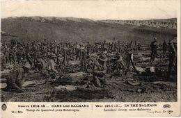DANS LES BALKANS - Le Camp De Lembed Près De Salonique - Guerre 14-18 - écrite Au Verso - War 1914-18