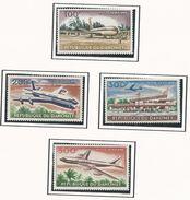 DAHOMEY Scott C20-C23 Yvert PA24-PA27 (4) ** Cote 20$ 1963 - Bénin – Dahomey (1960-...)