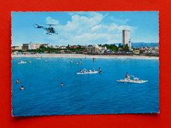 Cartolina Rimini - Spiaggia Vista Dal Molo - 1960 Ca. - Rimini