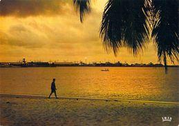 Afrique > Congo - Brazzaville > POINTE-NOIRE Coucher De Soleil Sur Le Port  (Cliché Chareton 7477 ) *PRIX FIXE - Pointe-Noire