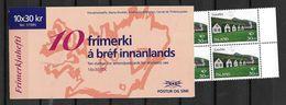 Islande 1995 Carnet N° C 779 Norden Tourisme - Markenheftchen