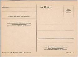 Alemanha, Post Card, - Deutschland