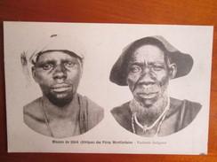 MISSION DU SHIRE DES PERES MONTFORTAINS .  VIEILLARD INDIGENES - Congo - Kinshasa (ex Zaire)