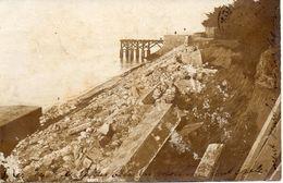 ARCACHON CARTE PHOTO-DEGATS TEMPETE-MOELLONS VILLAS-LIRE DETAIL-ACHAT IMMEDIAT - Arcachon