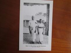 MISSION DU SHIRE DES PERES MONTFORTAINS .    2 JEUNES MARIES - Congo - Kinshasa (ex Zaire)