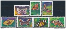 Tanzania.  Butterflies - Vlinders