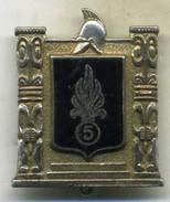 Insigne 5é Rgt Mixte Du Pacifique,légion étrangère ___drago - Esercito