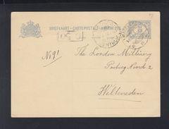 Postkaart  Ned. Indie 5 Cent Magelang 1931 - Niederländisch-Indien
