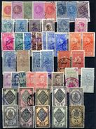 ROMANIA  Range Of 90 Revenue Stamps, All But A Few Are Used. - Revenue Stamps