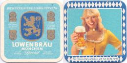 #D177-201 Viltje Löwenbräu München - Beer Mats