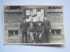 CARTE POSTALE PHOTO - SERVICES De RENSEIGNEMENTS Bloc 4 Ch 10 - Stalag VI/A 78 Geprüft - 1944 - Weltkrieg 1939-45