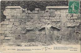 Paris - Square Du Père-Lachaise - Mur Des Fédérés De Paul Moreau-Vauthier - France