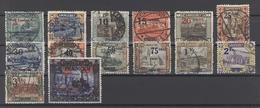 Saargebiet Mi.Nr. 70-83, Freimarken 1921 Gestempelt (19839) - 1920-35 League Of Nations