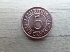 Maurituis  5  Cents  2010  Km 52 - Mauritius