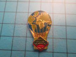 Pin513g Pin's Pins : Rare Et Belle Qualité : BALLON LIBRE MONTGOLFIERE SAVEURS DU MONDE MAGGI  , Marquage Au Dos : ---- - Airships