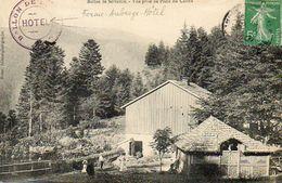 CPA - SERVANCE (70) - Aspect De La Ferme-Auberge-Hôtel Du Plain Du Canon En 1909 - France