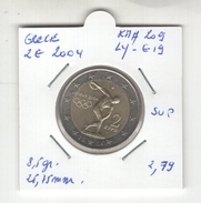 Grèce. 2 Euros  2004. Superbe. KM # 209. LY-G19 - Grèce