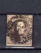 1851   Léopold 1er, Médaillons, Médaillons, 6 Ac (brun-roux), - 1851-1857 Medallions (6/8)
