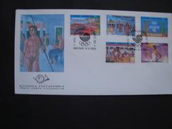 GREECE   FDC 1988  OLYMPIC GAMES SEOUL KOREA 1988  CAT 23 - FDC