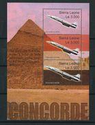 Sierra Leone 2003 The Concorde G-AXDN Stop In Egypt. Planes/Avion - Concorde