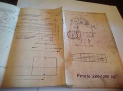 Emato 220/250 NE Plan Tours Modèle EMTATO Tours Rapide - Tools