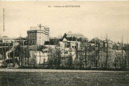 CPA - MONTROZIER - LE CHATEAU (IMPECCABLE) - France