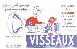 Vieux Papiers - Buvard - Lampe Visseaux - 2 Buvards - Electricity & Gas