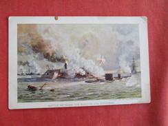 Civil War-- Battle Between The Monitor & Merrimac -ref 2740 - Krieg