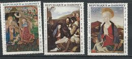 DAHOMEY Scott C46-C48 Yvert PA50-PA52 (3) ** Cote 17,00$ 1966 - Bénin – Dahomey (1960-...)